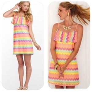 Lilly Pulitzer Chevron Stripe Laya Dress